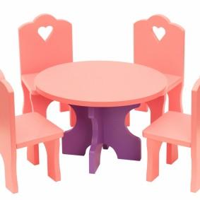 детский деревянный стульчик идеи декора