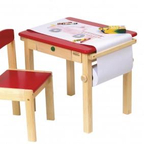 детский деревянный стульчик интерьер