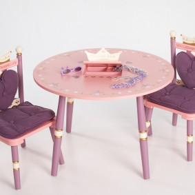 детский деревянный стульчик идеи интерьер