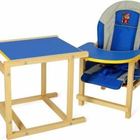 детский деревянный стульчик варианты фото