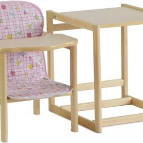 детский деревянный стульчик фото варианты
