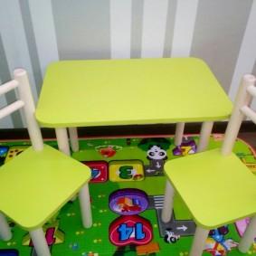 детский деревянный стульчик дизайн фото