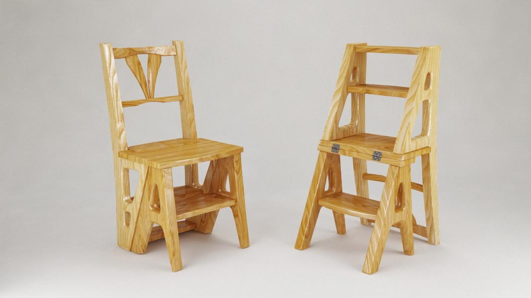 детский деревянный стульчик трансформер