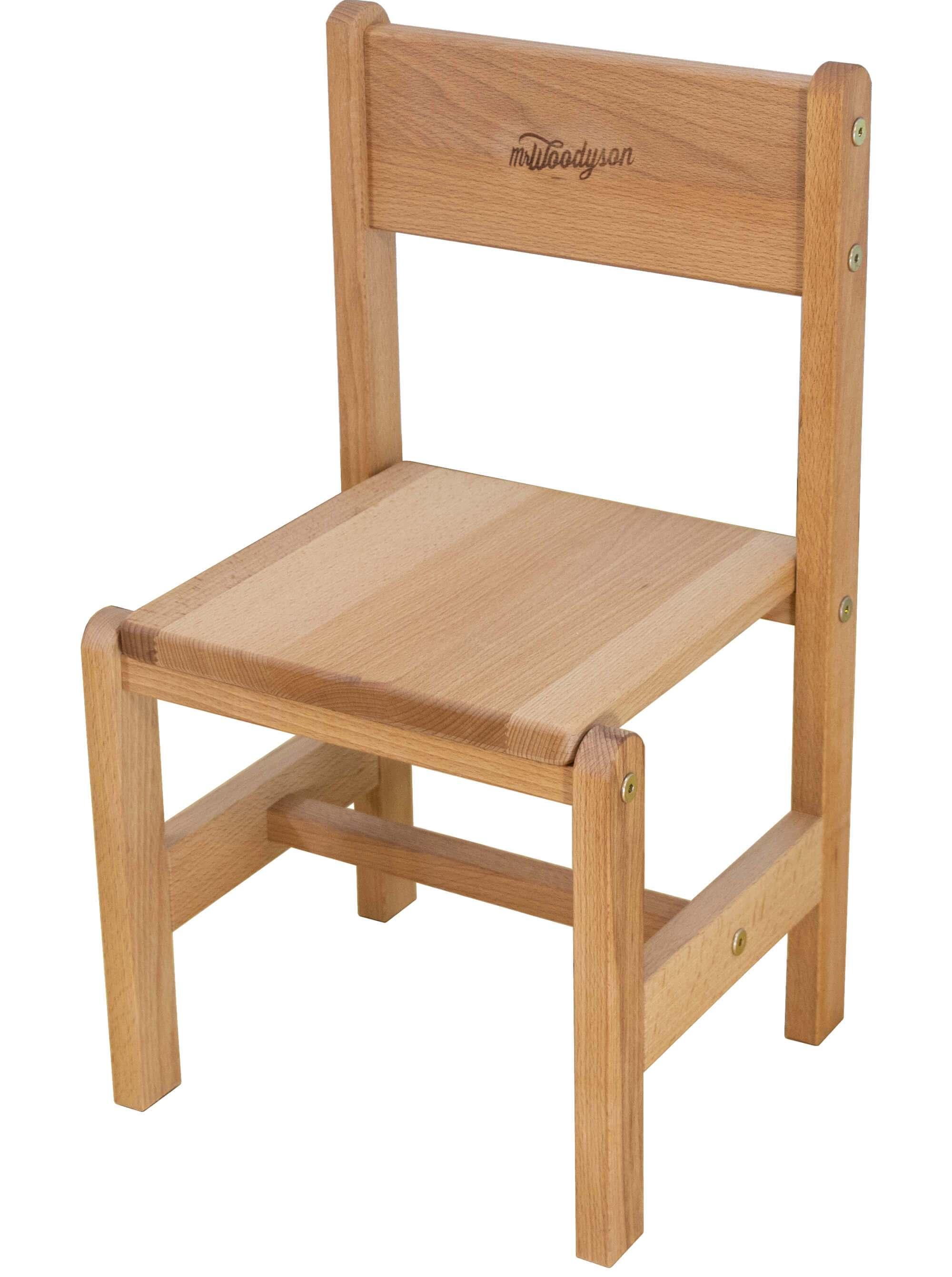 детский деревянный стульчик из бука