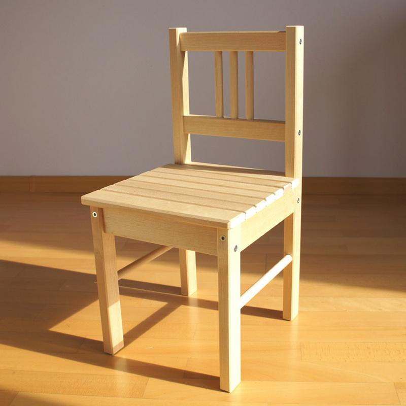 детский деревянный стульчик со спинкой
