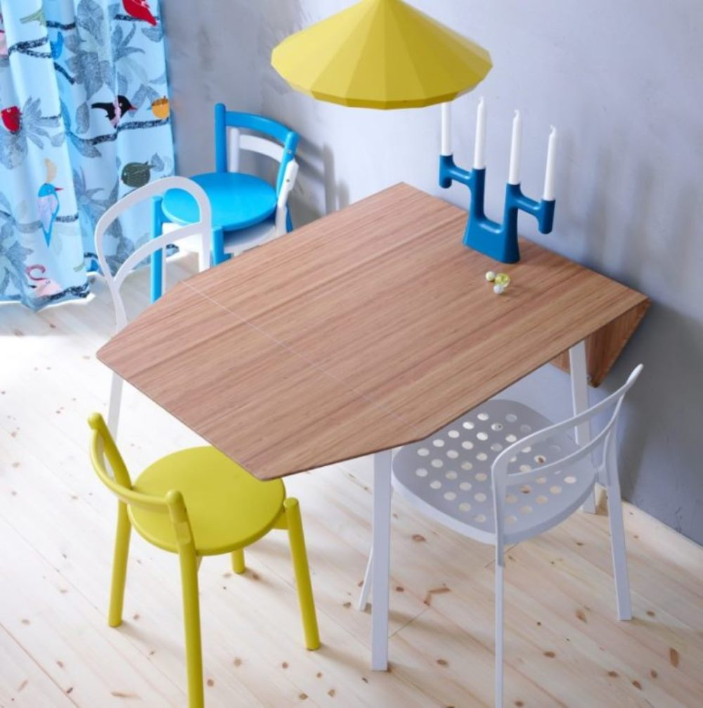 детский откидной стол