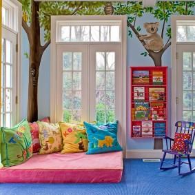 детский уголок в комнате фото
