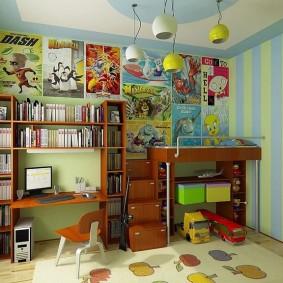 детский уголок в комнате декор