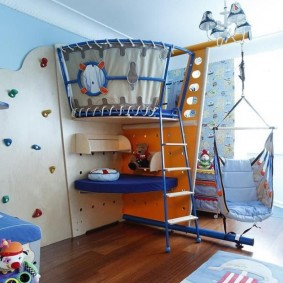 детский уголок в комнате декор фото