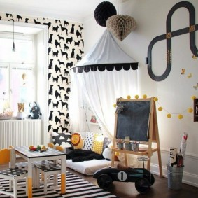 детский уголок в комнате идеи декор