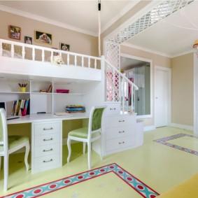 детский уголок в комнате идеи декора