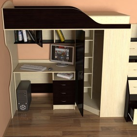 детский уголок в комнате интерьер
