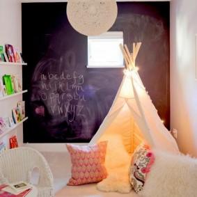 детский уголок в комнате идеи