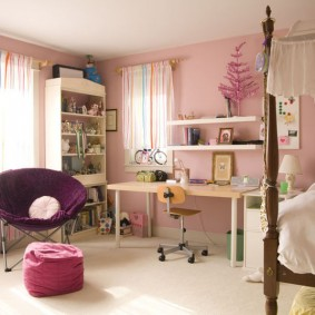 детский уголок в комнате интерьер фото