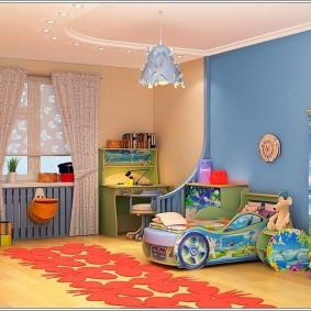 детский уголок в комнате фото оформление