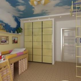 детский уголок в комнате фото оформления