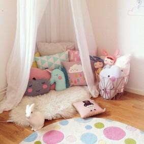 детский уголок в комнате идеи фото