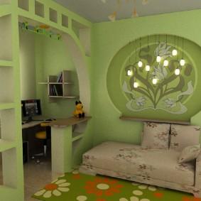 детский уголок в комнате варианты идеи