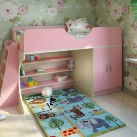 детский уголок в комнате идеи варианты