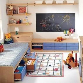 детский уголок в комнате фото виды