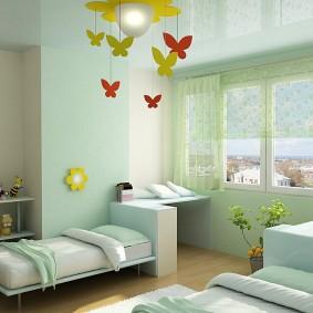 детский уголок в комнате фото видов