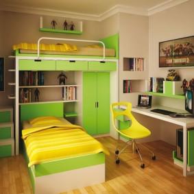 детский уголок в комнате виды идеи