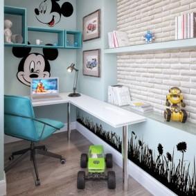 детский уголок в комнате обзор