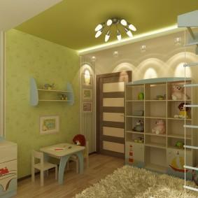 детский уголок в комнате виды оформления