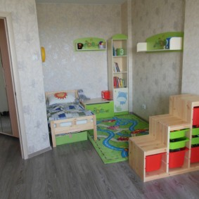 детский уголок в комнате дизайн