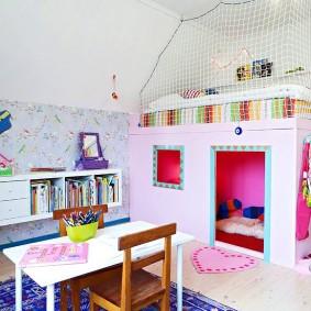 детский уголок в комнате дизайн фото