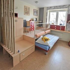детский уголок в комнате фото дизайн