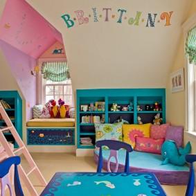 детский уголок в комнате фото дизайна