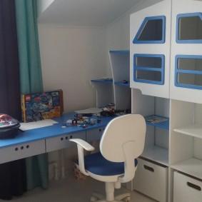 детский уголок в комнате дизайн идеи