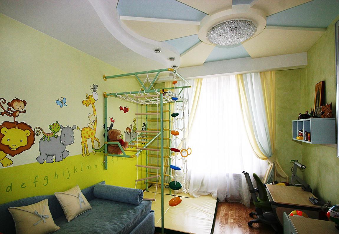 дизайн детского уголка для мальчика