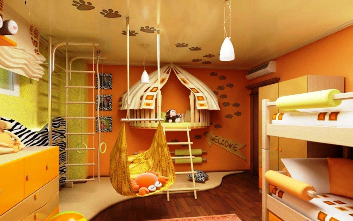 дизайн детской комнаты 14 кв м варианты
