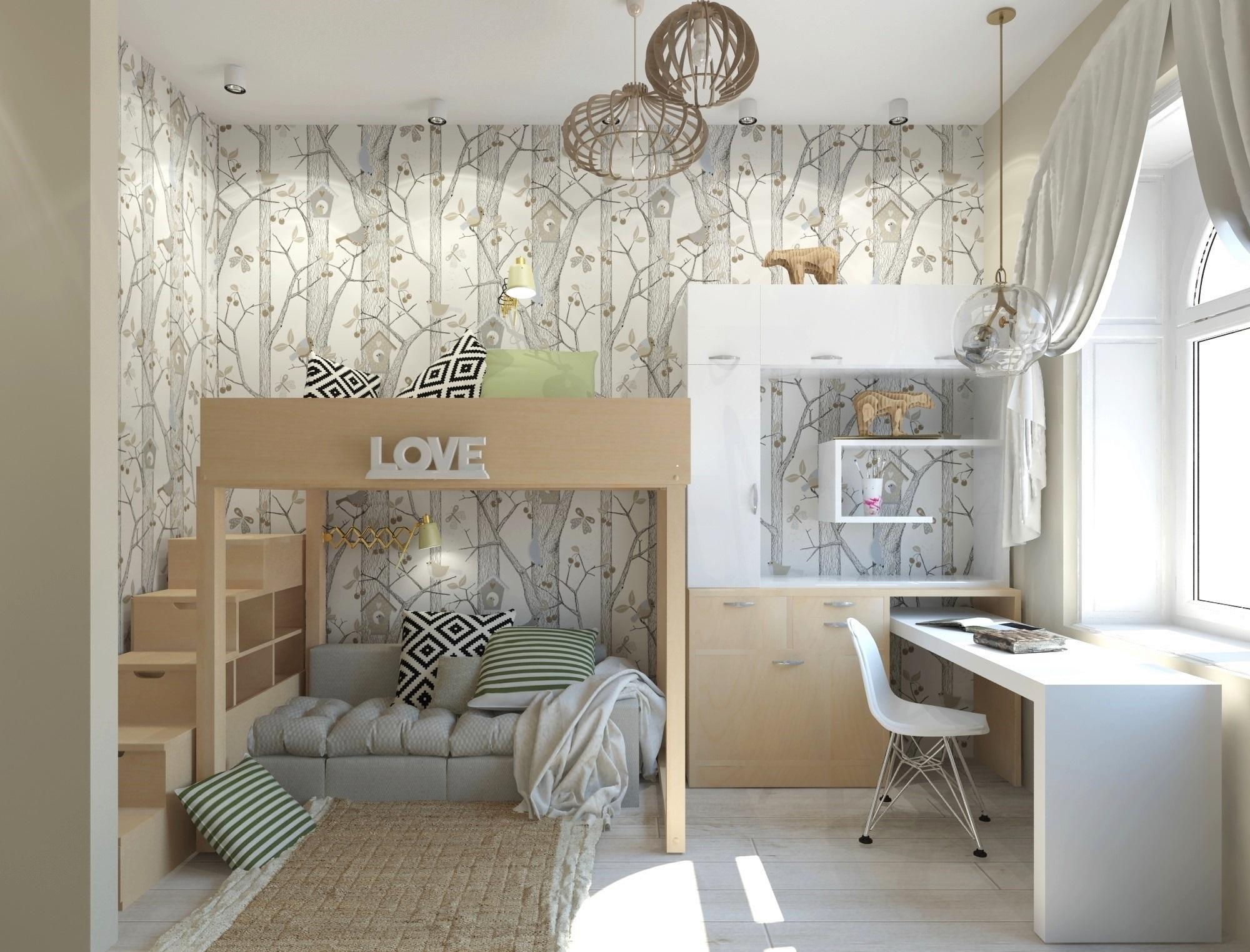 дизайн детской комнаты фото идеи