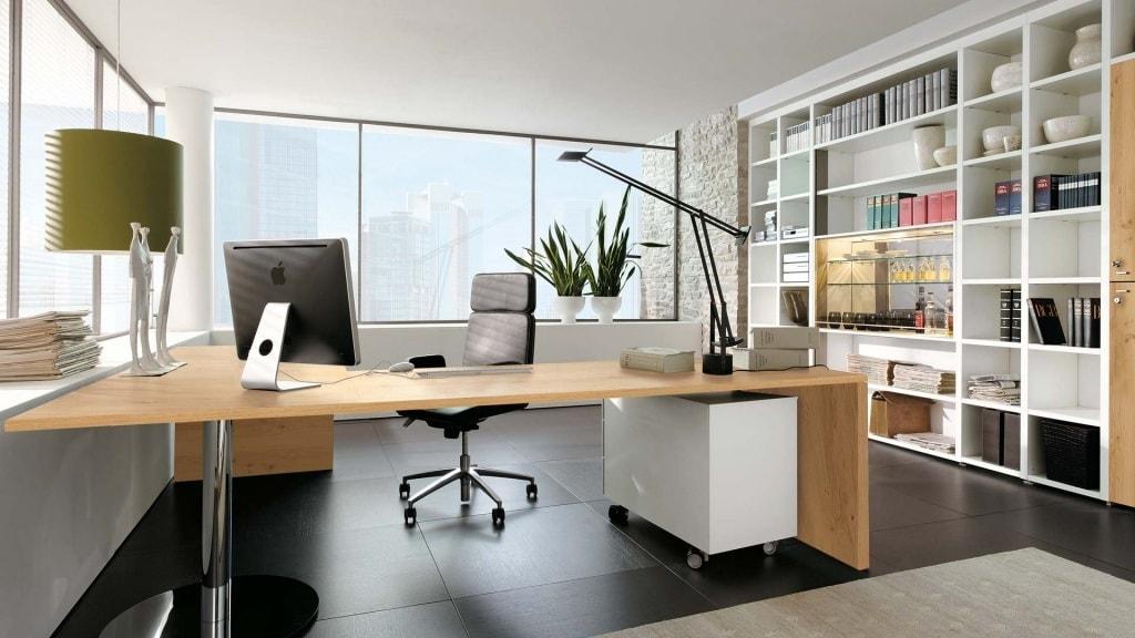 дизайн кабинета вид
