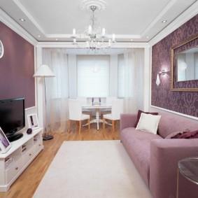 двухкомнатная квартира распашонка декор