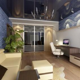 двухкомнатная квартира распашонка декор фото
