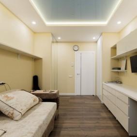 двухкомнатная квартира распашонка интерьер