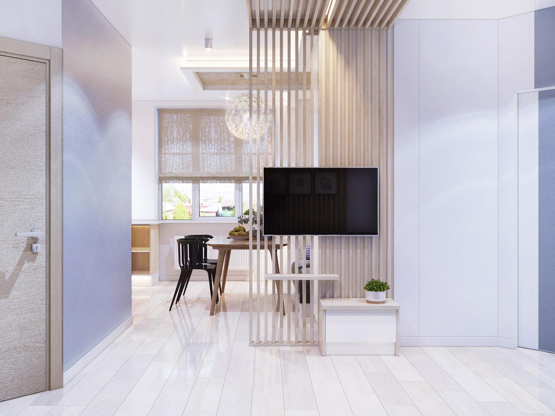 Простой дизайн двухкомнатной квартиры фото день
