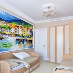 двухкомнатная квартира распашонка фото интерьера