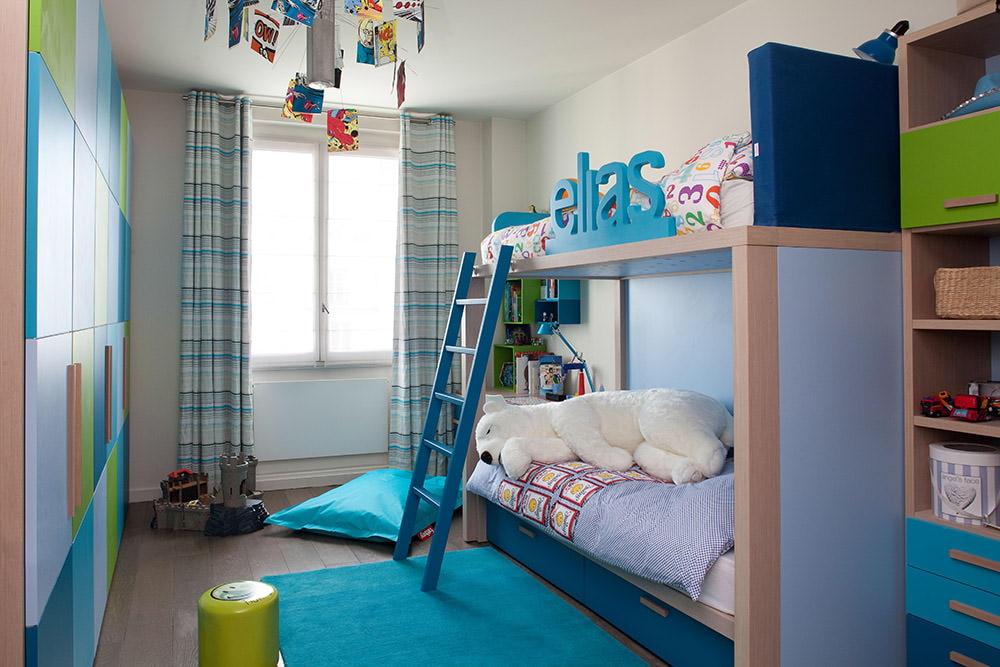 дизайн детской комнаты интерьер