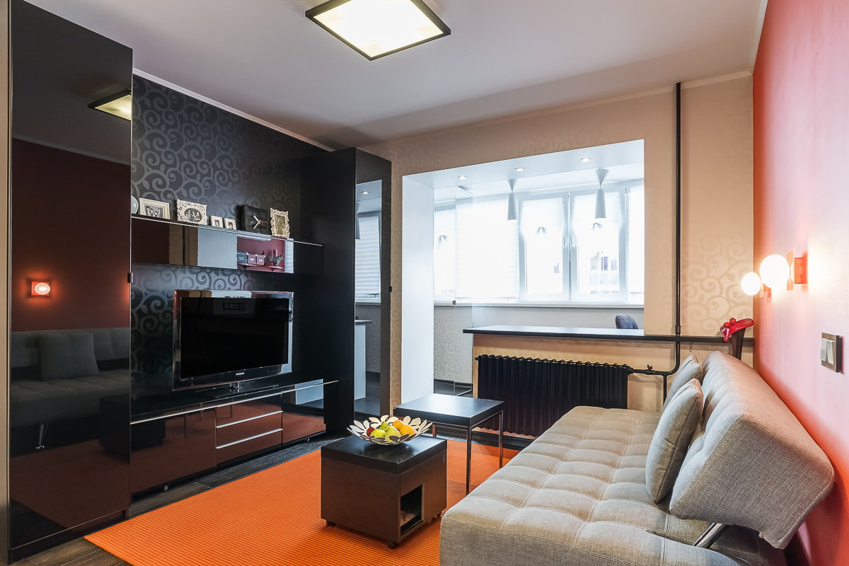однокомнатная квартира 36 кв м