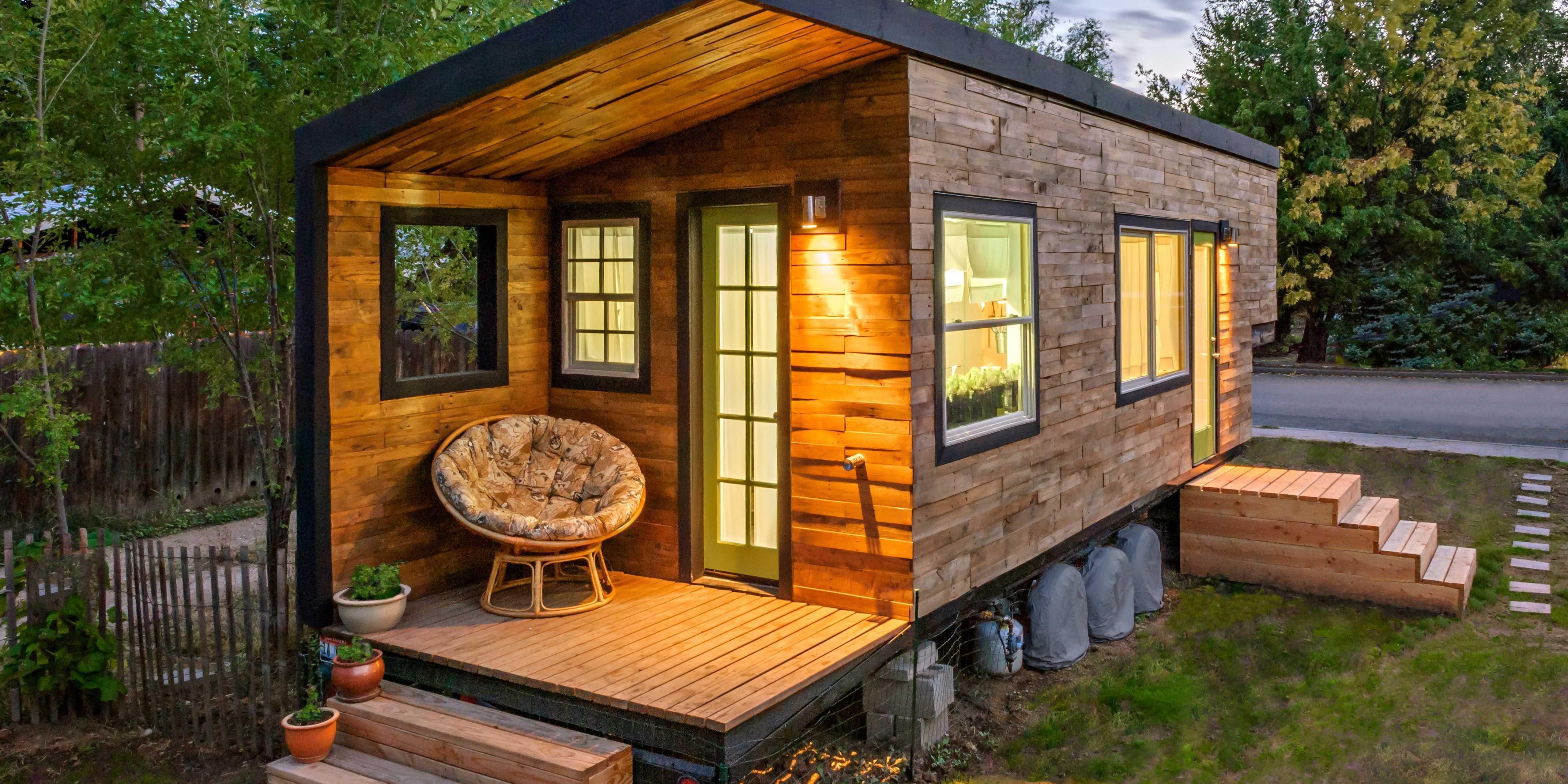 дизайн садового дома
