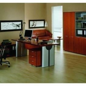 дизайн кабинета скромного