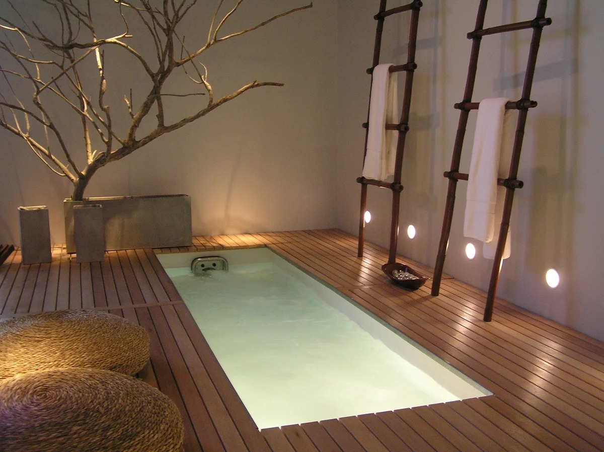 ванная в японском стиле дизайн фото