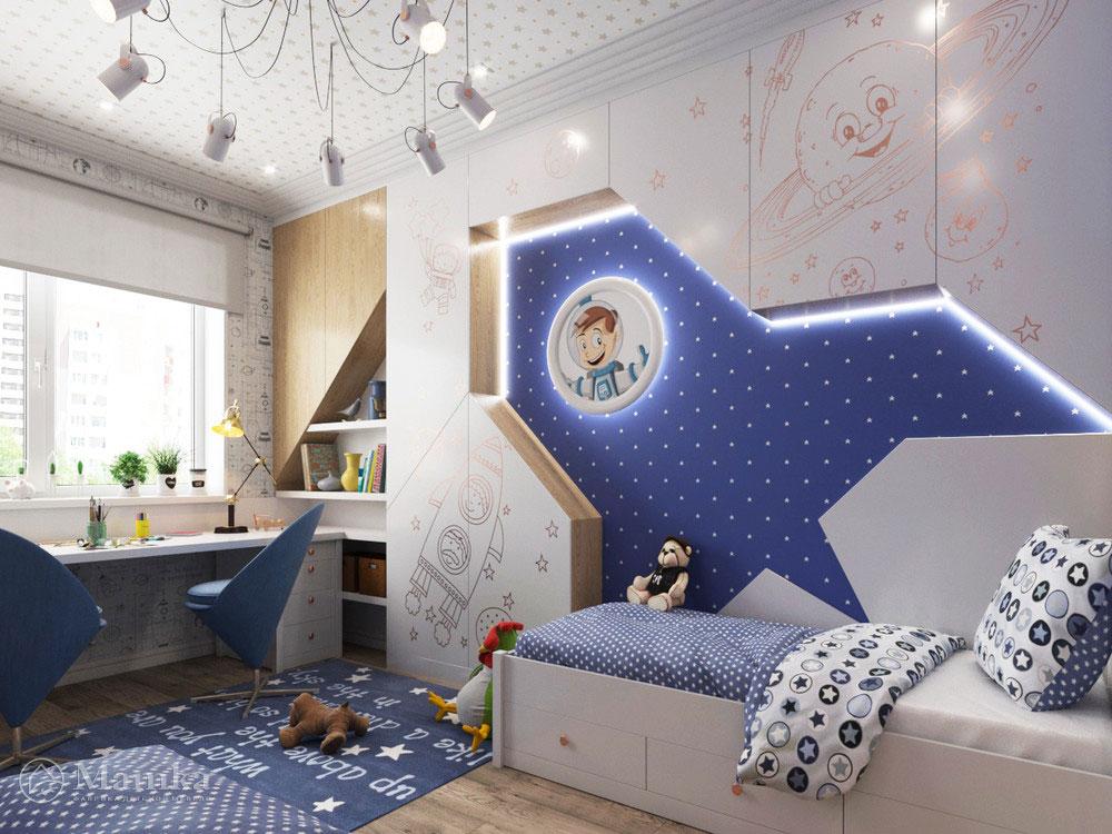 дизайн интерьера детского уголка