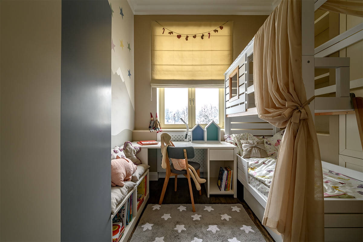 двухкомнатная хрущевка детская комната