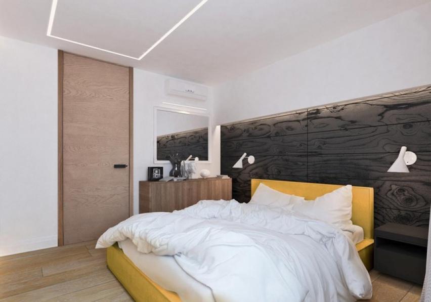 двухкомнатная квартира спальня